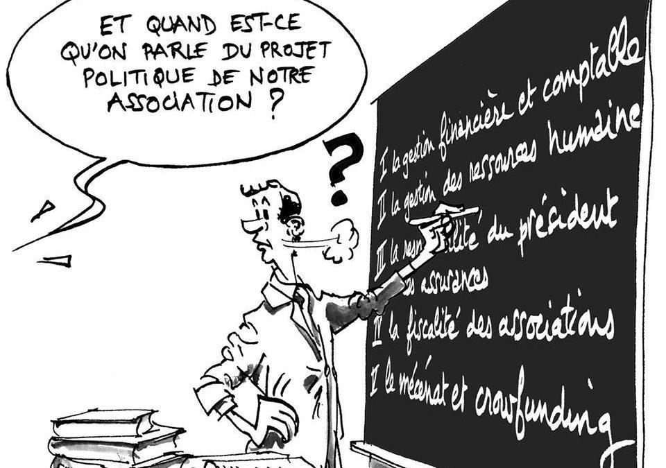 Groupe de travail sur la «gouvernance associative»